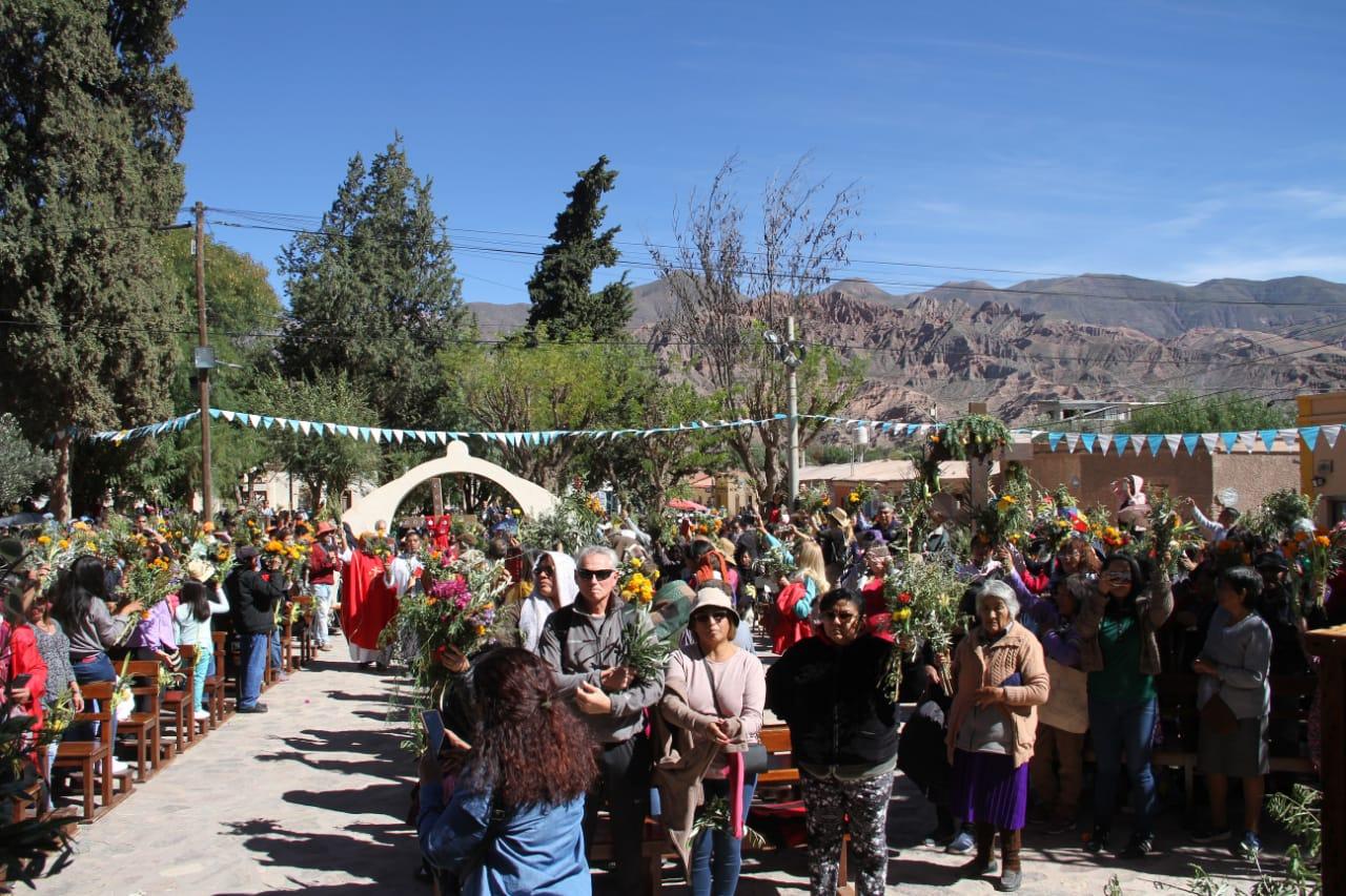 Domingo de Ramos en Tilcara