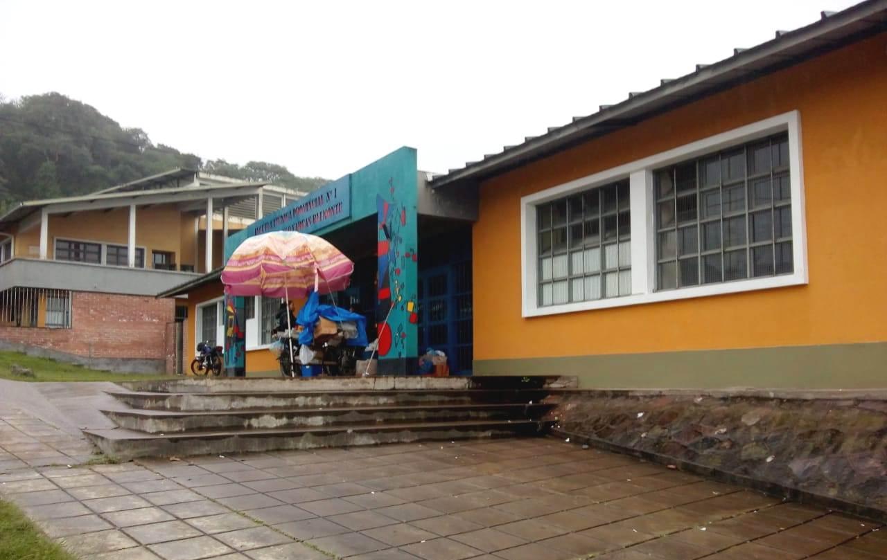 Edificio de la Escuela Técnica Provincial N° 1