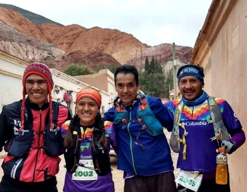 Participantes de la carrera