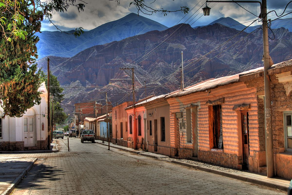 Calle en Tilcara, Jujuy