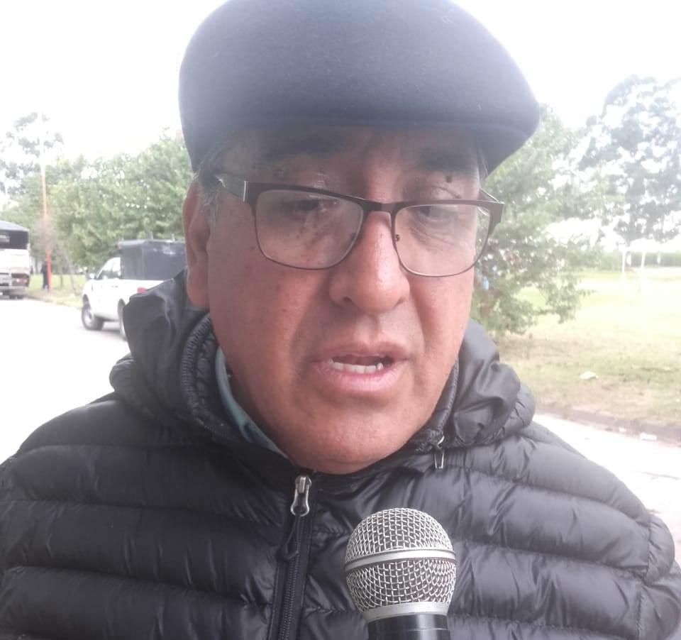 Secretario de Seguridad de la provincia Comisario General (R) Guillermo Rubén Tejerina