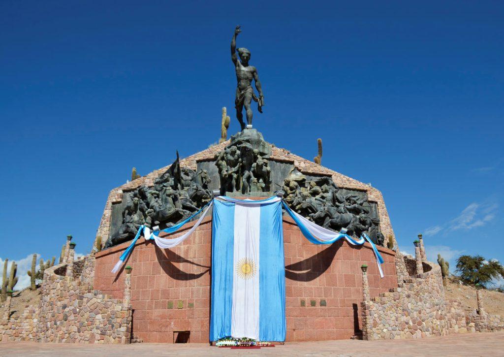 Monumento a la Independencia en la localidad