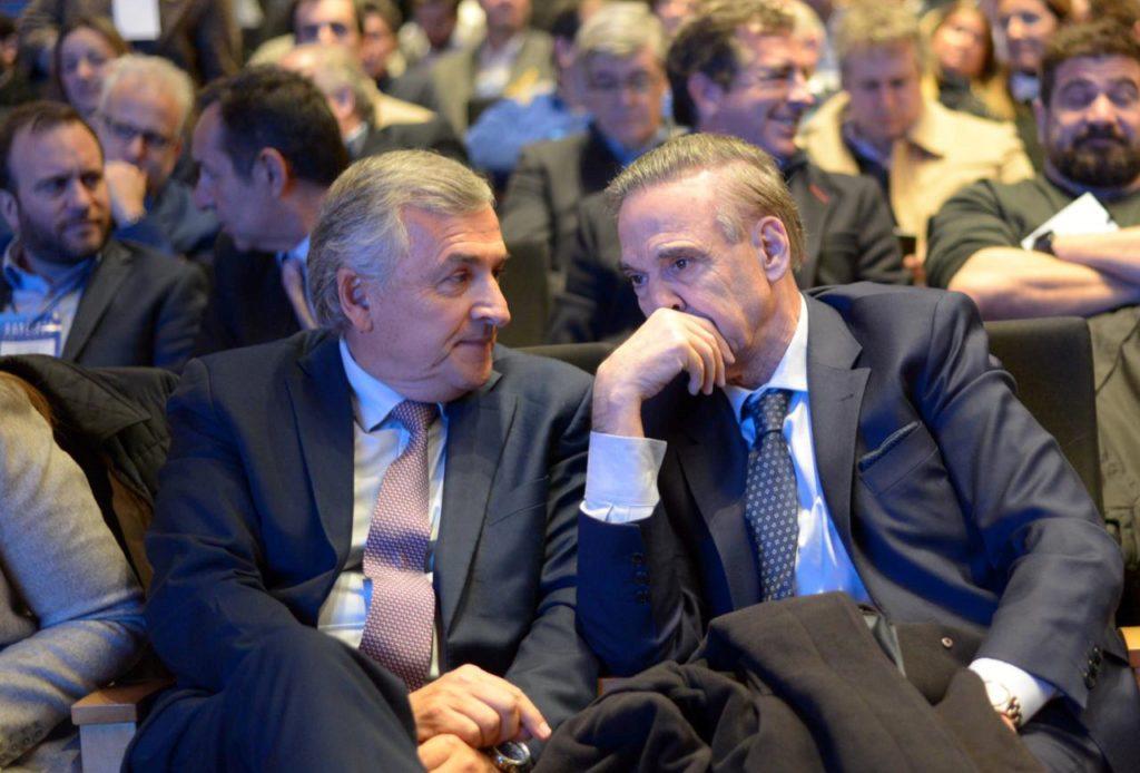 Morales con Pichetto en el encuentro