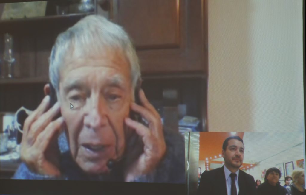 Video conferencia con Hugo Cid Conde