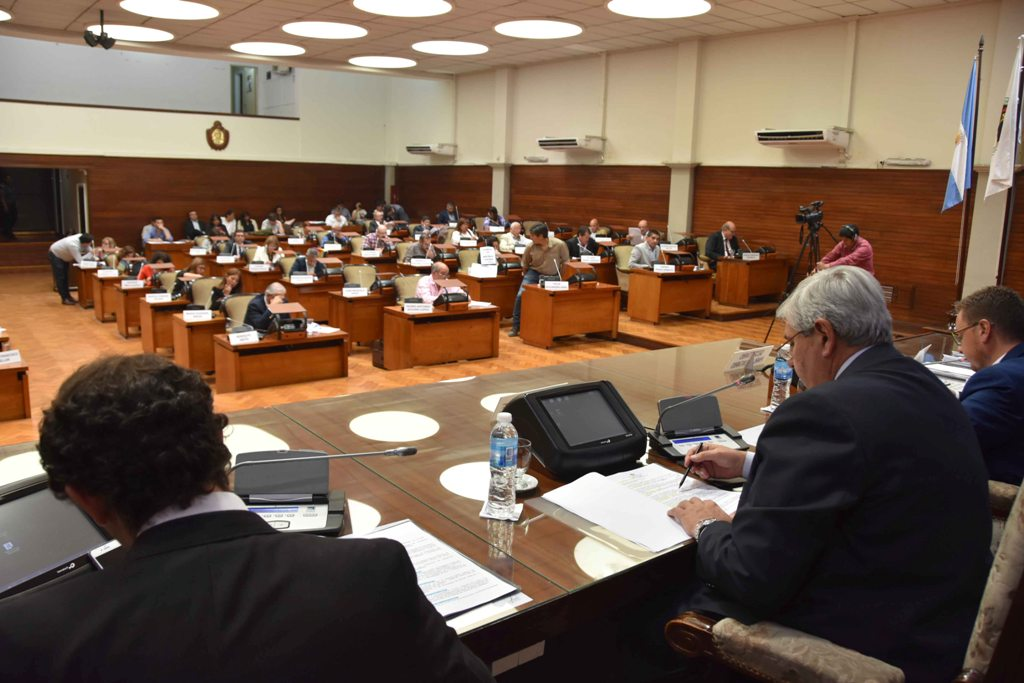 Última sesión en la Legislatura