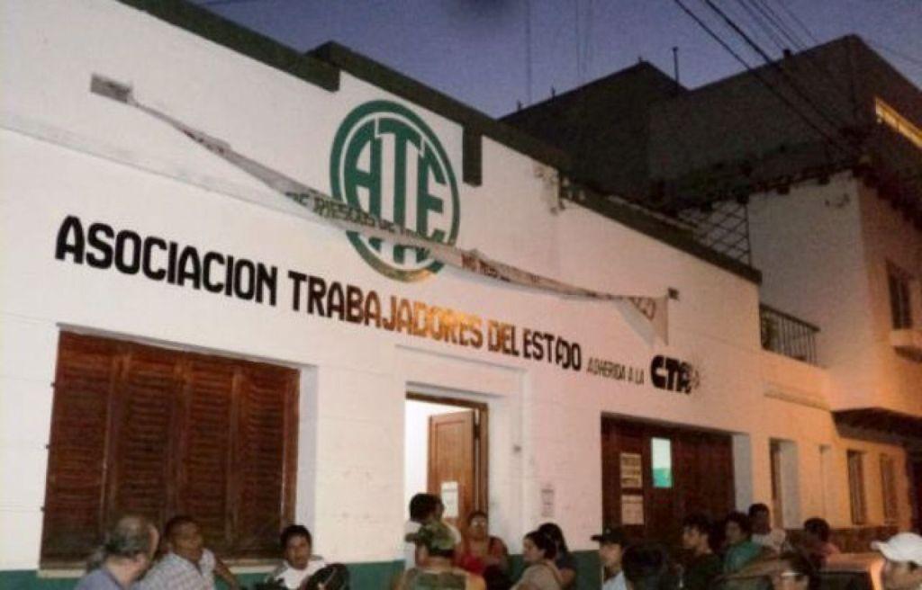 Sede del sindicato en calle Alvear