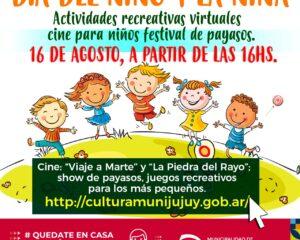 """Propuesta virtual por el """"Día del Niño"""""""