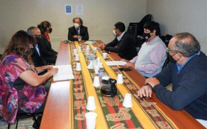 El Ministro de Trabajo y Empleo recibió a la Asociación Judicial de la provincia