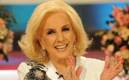 Juana Viale anunció cuándo podría volver Mirtha Legrand a la TV