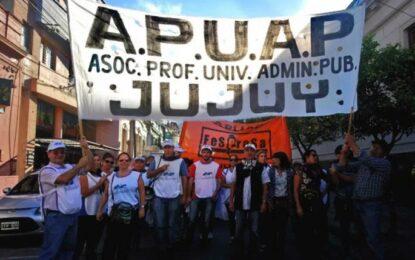 Sigue el reclamo de APUAP al gobierno provincial