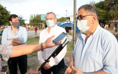 Servicios Públicos: Recambio de luminarias en barrio San Isidro