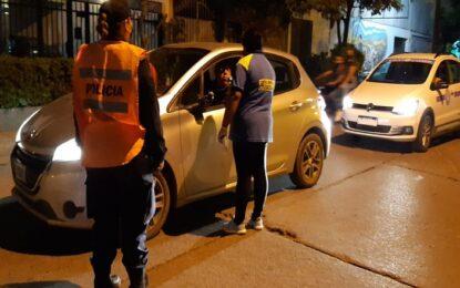 Controles viales nocturnos en San Pedro de Jujuy