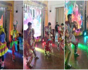 Festejo del carnaval 2021 de forma virtual por la Com.E.Cor. de San Pedro