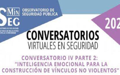 """Conversatorio """"Inteligencia Emocional para la construcción de vínculos no violentos"""""""