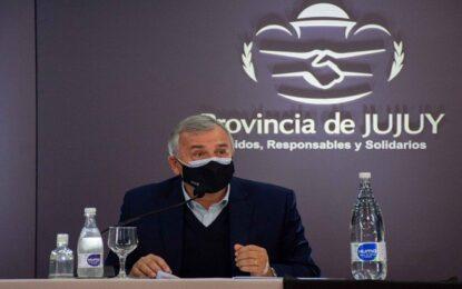 """Morales: """"La situación epidemiológica de Jujuy es diferente a la de AMBA"""""""