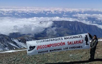 Guardaparques: El reclamo por las nubes