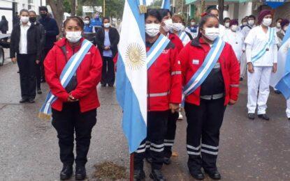 Acto por el Día Internacional de la Enfermería en San Pedro