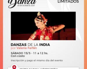 """""""Fiesta de la Danza"""", se invita a los ciudadanos a participar de los talleres y actividades que ofrece el nuevo ciclo cultural"""
