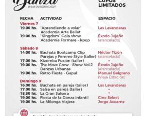 """Actividades programadas para disfrutar de la """"Fiesta de la Danza"""""""