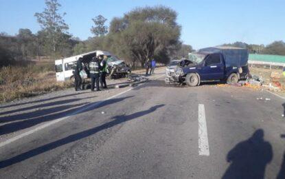 Triple choque vehicular: Accidente en ruta nacional 34 altura San Pedro de Jujuy