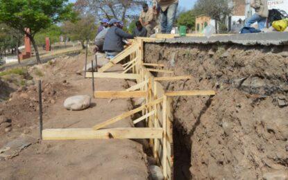 Avanza la construcción de la rampa en barrio San Francisco de San Pedro de Jujuy